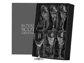 Royal Scott Crystal wine glasses