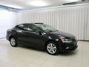 2015 Volkswagen Jetta TDI Turbo Diesel! VW Certified! 6-Speed! T
