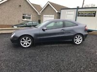 2007 Mercedes-Benz C Class 2.1 C200 CDI SE 2dr++ 6 speed manual