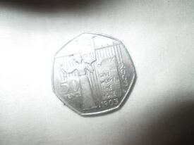 50p - 50 pece suffragettes movement 2003 circulated coin