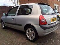 Renault Clio 1.2 Mot mint bargain 103k 2002 Dynamique
