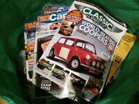 Large amount of VW and Classic Car magazines