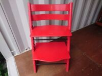 Tripp Trapp by Stokke - red colour