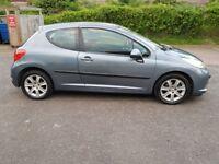 2007 Peugeot 207 1.6 16v Sport 3dr Manual @07445775115 Low Mileage+Clutch+Little+High