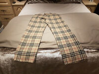 BURBERRY TROUSERS MENS GENUINE