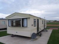 2003 ABI Arizona static caravan for sale at Chesterfield Country Park in Berwickshire.