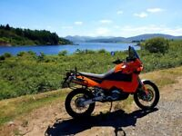 KTM 950 Adventure S Full Hepco and Becker Hard Luggage not 990 r bmw r1200 gs 1190 tiger