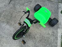 Elektra Hog - Trike - Drift Bike With Flashing Leds. Excellent Condition.