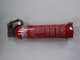 Fireblitz Beta 950, 950g Dry Powder Extinguisher. SOLD AS SEEN, OUT OF DATE