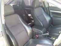 Half leather interior from a low mileage Vectra C GSi 3.2 not SRi design CDTi