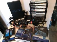 PS2, Sony Playstation 2 (SCPH-50003), IN EXCELLENT CONDITION, + 13 games & loads of accessories