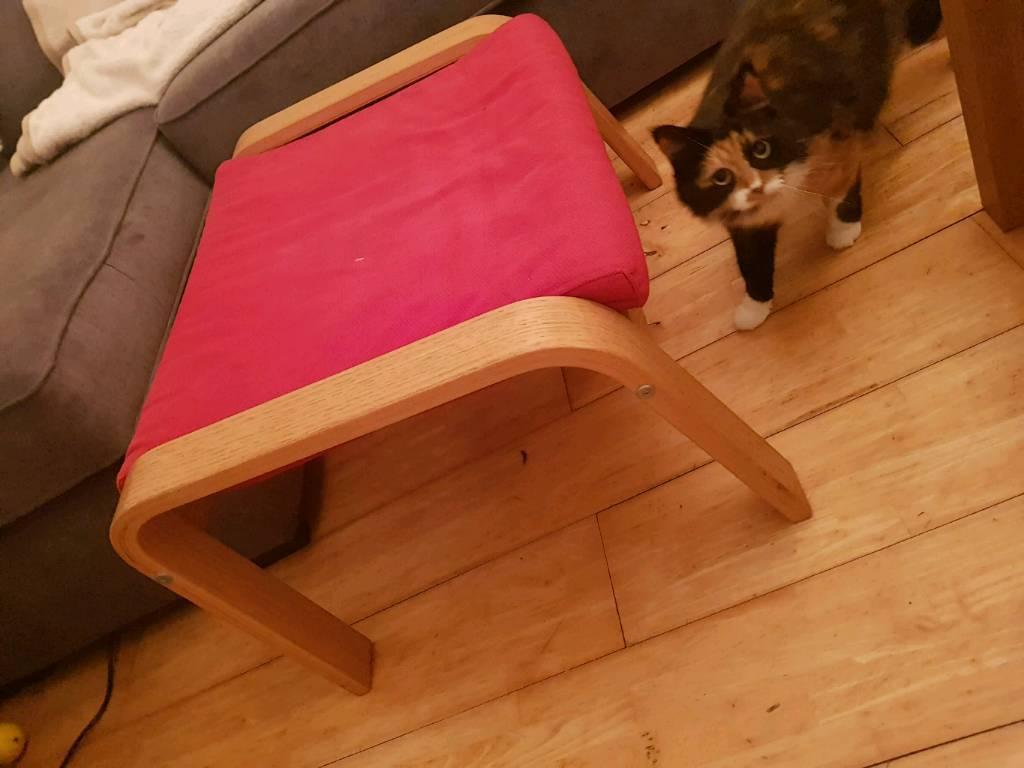 Ikea poang foot stool