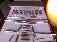 Tipco Socket Set and Box plus Apollo Mini Sockets and miscelleneous additonal sockets and handles
