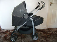 SILVER CROSS 3D PUSHCHAIR AND PRAM SYSTEM USED JUST A FEW MONTHS IMMACULATE CONDITION NOT CAR SEAT