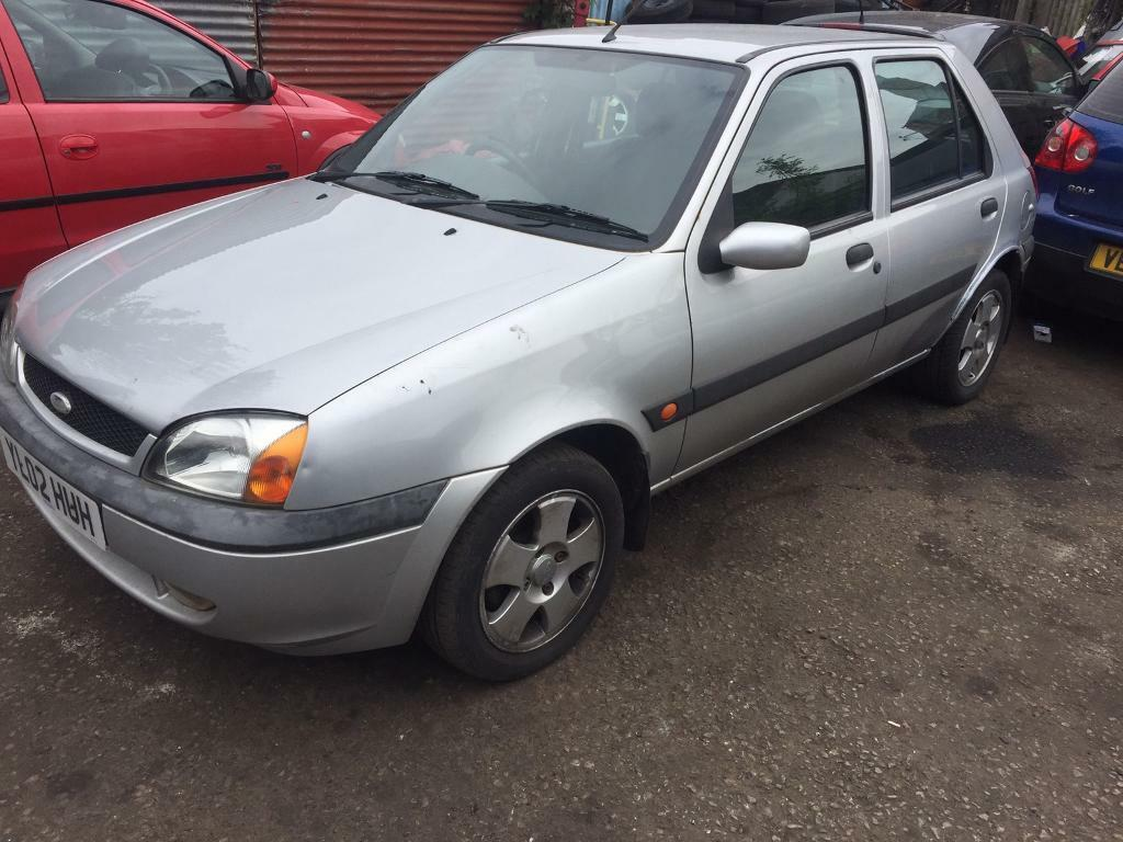Ford fiesta 2002 1 2 66k genuine with 1 year mot