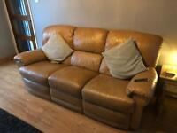 Leather Recliner Sofa 3 1 1