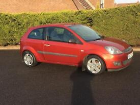 2005 Ford Fiesta 1.25 Zetec climate. Not, new tyres, just serviced