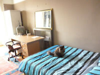 Large room in Central Edinburgh with castle view