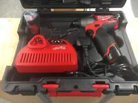 Milwaukee M12 Fuel 3/8 impact wrench Brand New