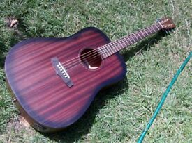 electro acoustic guitar tanglewood