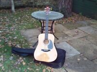 Lorenzo acoustic guitar model no L-442 - specially made by FNC Music, Tonbridge