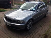 BMW 318ci grey facelift coupe