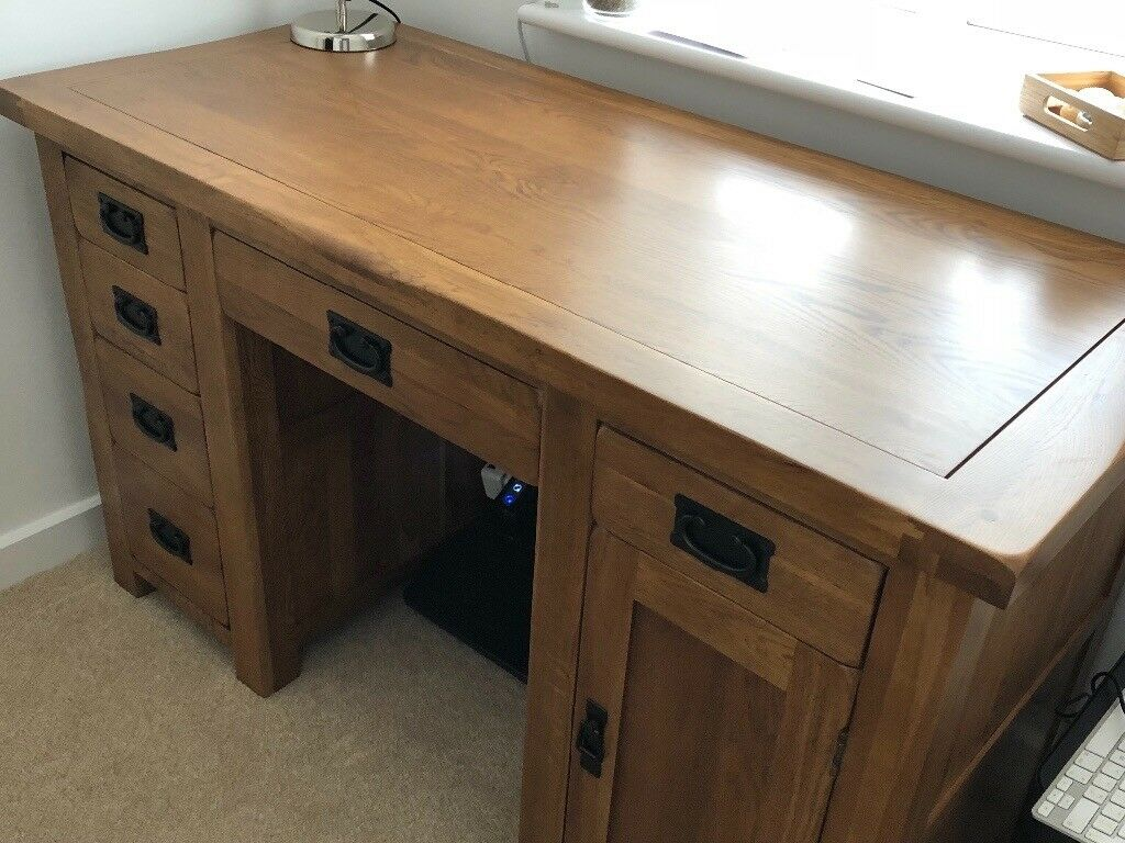 Oak Office Table On 275 Or Sensible Offers Almost New Oak Office Table Perfect Condition No Scratches Unwanted Item 275