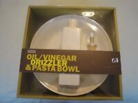 M. & S. Oil & Bowl Set - unused & boxed