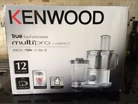 KENWOOD MULTI PRO FOOD PROCESSOR SILVER - FPP225 BARGAIN !! Retails upto £69 !!