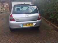 Renault Clio 1.5 Dci priced for quick sale