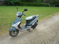 SCOOTER Pulse Scout 2012 fully serviced 12 months MOT from date of purchase