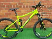 Brand new Voodoo Minustor full suspension mountain bike