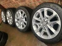 "2020 18"" Genuine Audi SQ2 Q2 Q3 alloy wheels +Continental tyres 81A601025R RRP£2250 CAN POST"