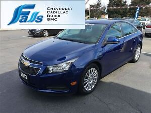 2013 Chevrolet Cruze LEASE RETURN 17 INCH ALUMINUMS REMOTE START