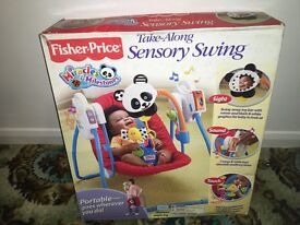 Fisher price sensory swing