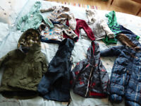 Bundle of Boys' Jumpers and Coats