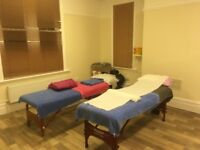 Large treatment room Royston. £20 per day