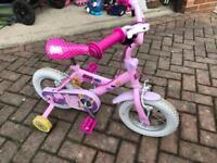 """Peppa Pig- my first bike 11"""" wheel"""