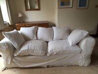Cream Tetrad Sofa