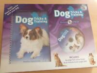Dog training book and DVD