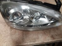 2006 vauxhall corsa osf drivers side front head light