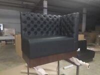 Sofa booth bench