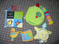 Bundle of 4 Soft Baby Books in very good clean condition.