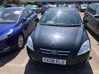 Kia Cee'd 1.4 SR Limited Edition Petrol Black 2008 NEW 12 MONTHS MOT Service History £995