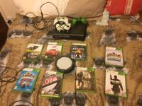 Xbox 360 all working 2 controls lots of games