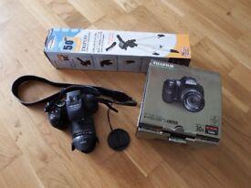 Fujifilm Finepix HS30XR 16mp digital camera plus tripod
