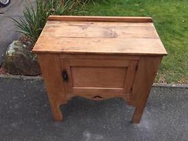 Solid Antique Pine Cupboard