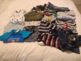 Bundle of boys clothes age 12-18 months