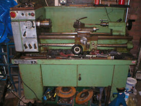 Boxford 11.30 Industrial long bed screw cutting lathe, includes 240v variable speed inverter.