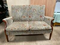 Parker knoll froxfield two seater couch